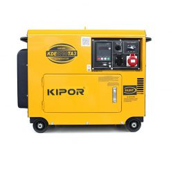 Kipor, KDE6700TA3, diesel aggregaat generator